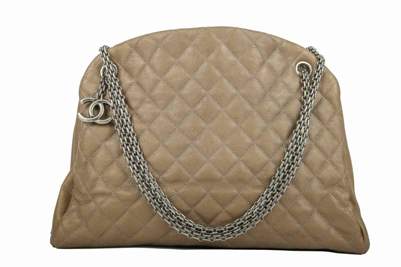 Chanel Shopper Kaviar Leder