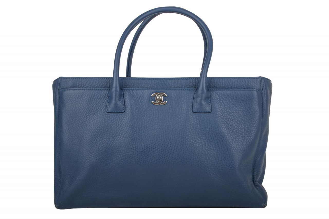 Chanel Shopper Blau