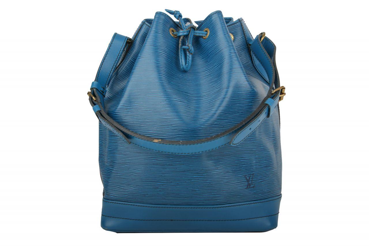Louis Vuitton Sac Noé Grand Epi Leder Blau