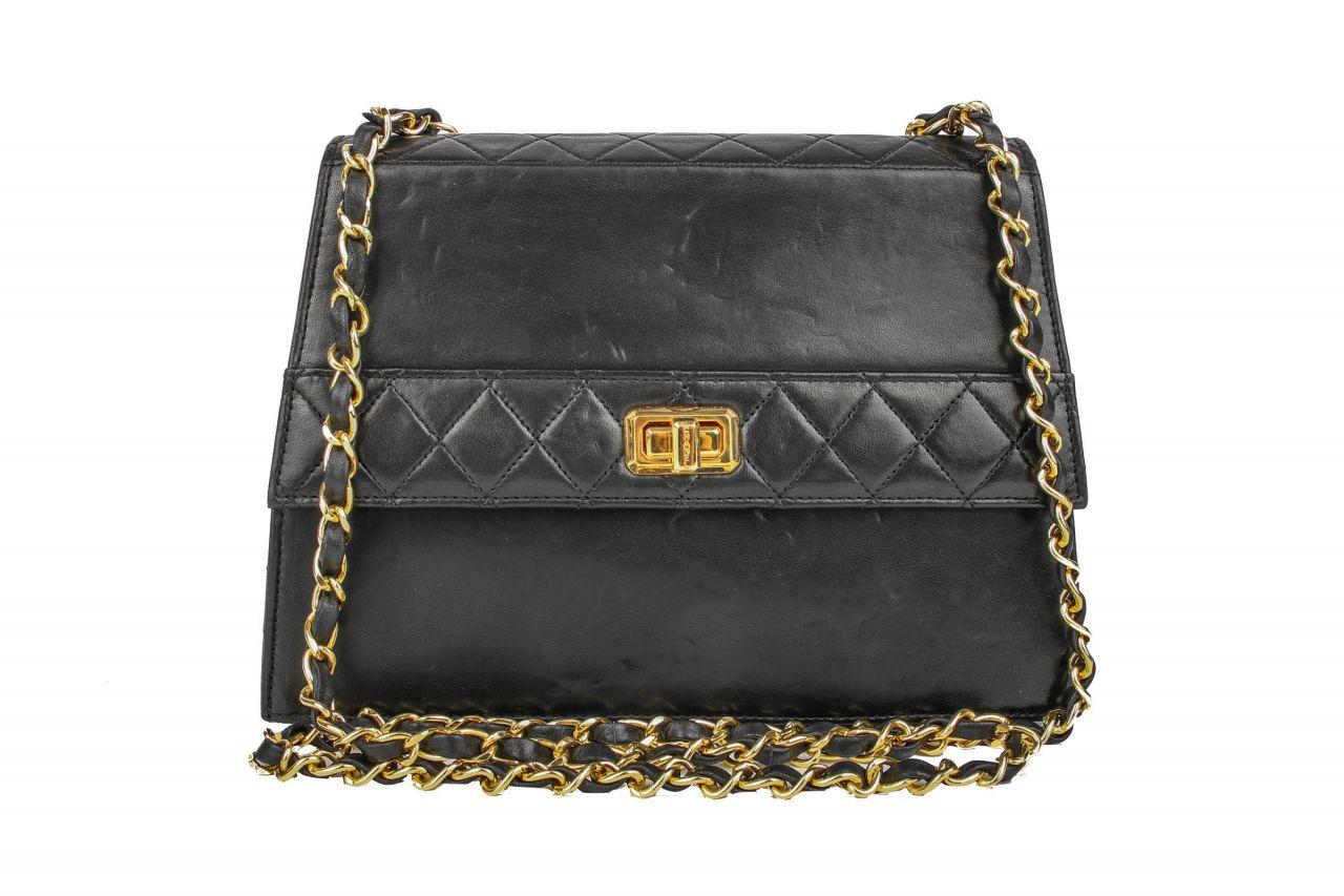 Chanel Vintage Handtasche Schwarz