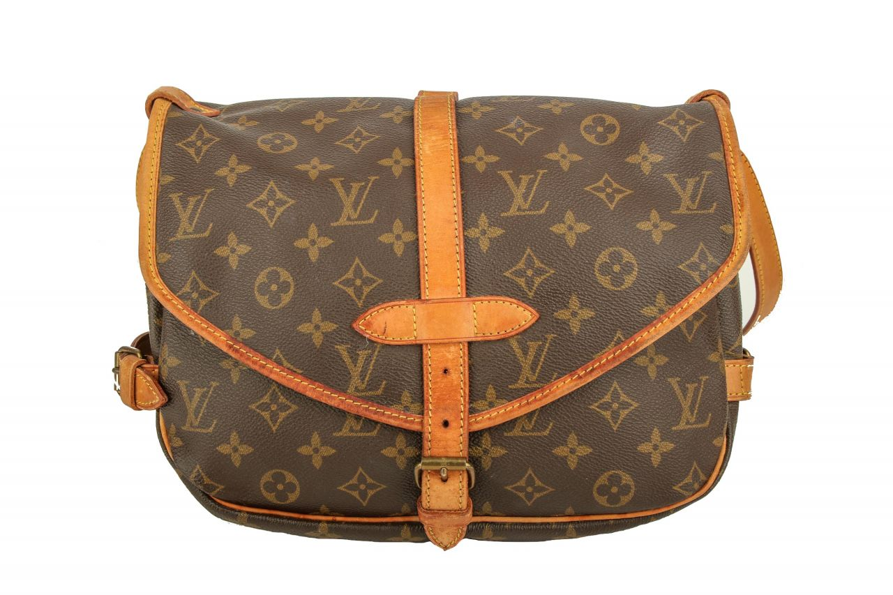 Louis Vuitton Saumur 30 Monogram Canvas