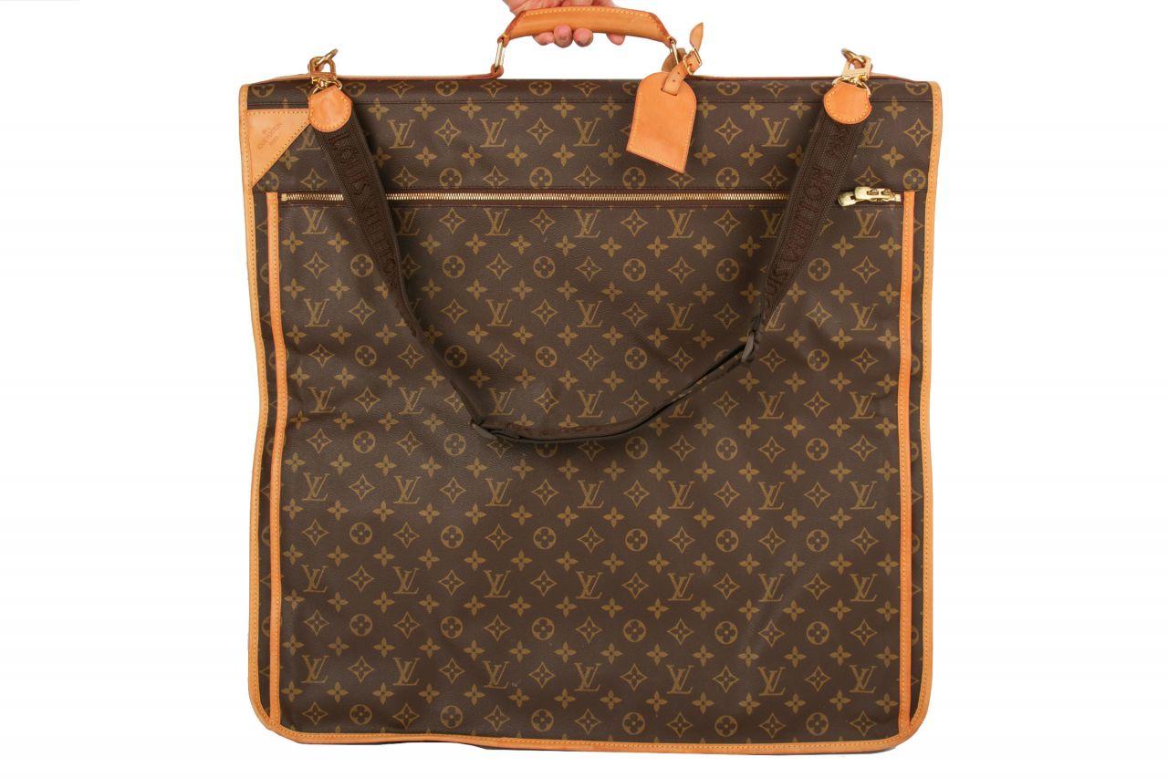 Louis Vuitton Kleidersack Monogram Canvas braun
