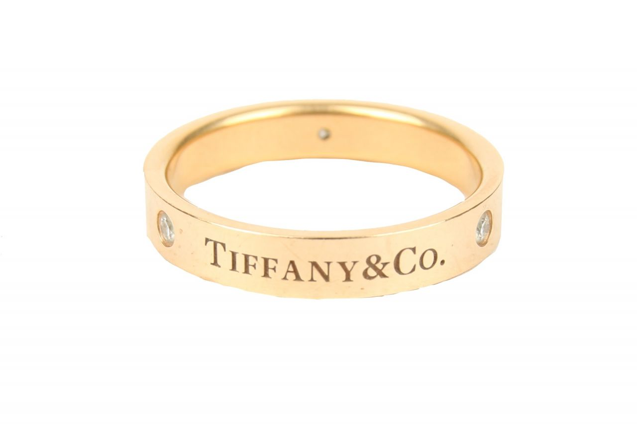 Tiffany & Co. Bandring Gold