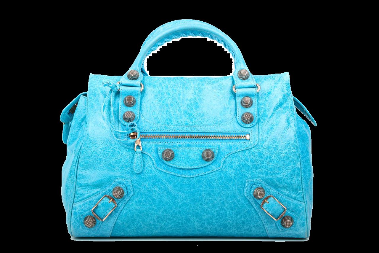 Balenciaga Classic Velo Bag Blau