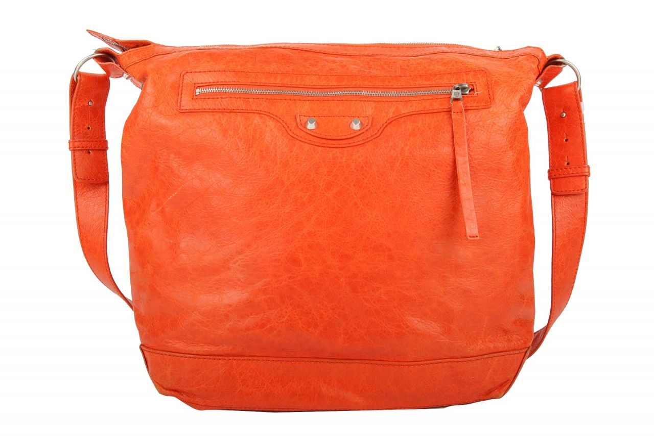 Balenciaga Day Crossbody Messenger Bag Orange