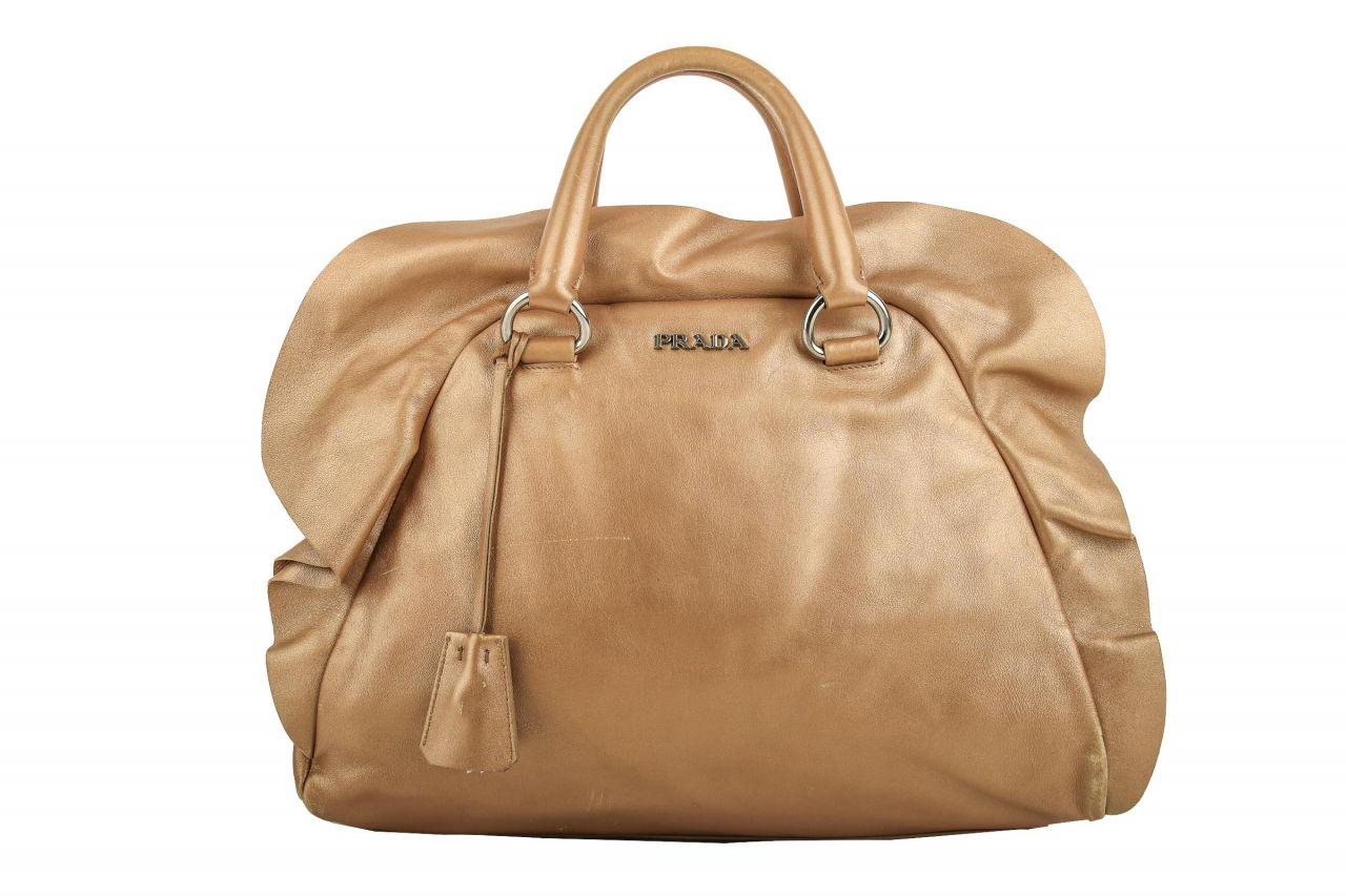 Prada Handtasche Bronze