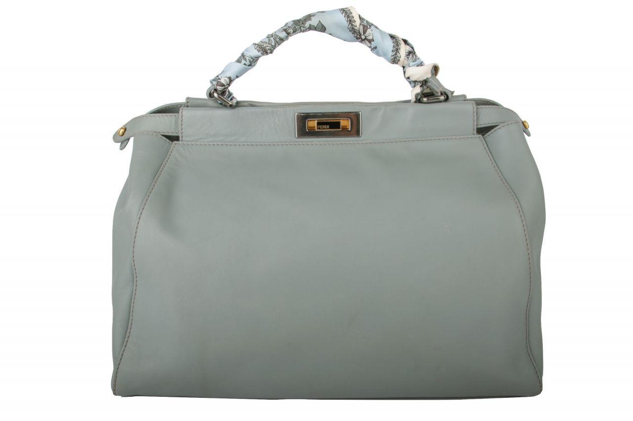Fendi Peekaboo Bag Blue