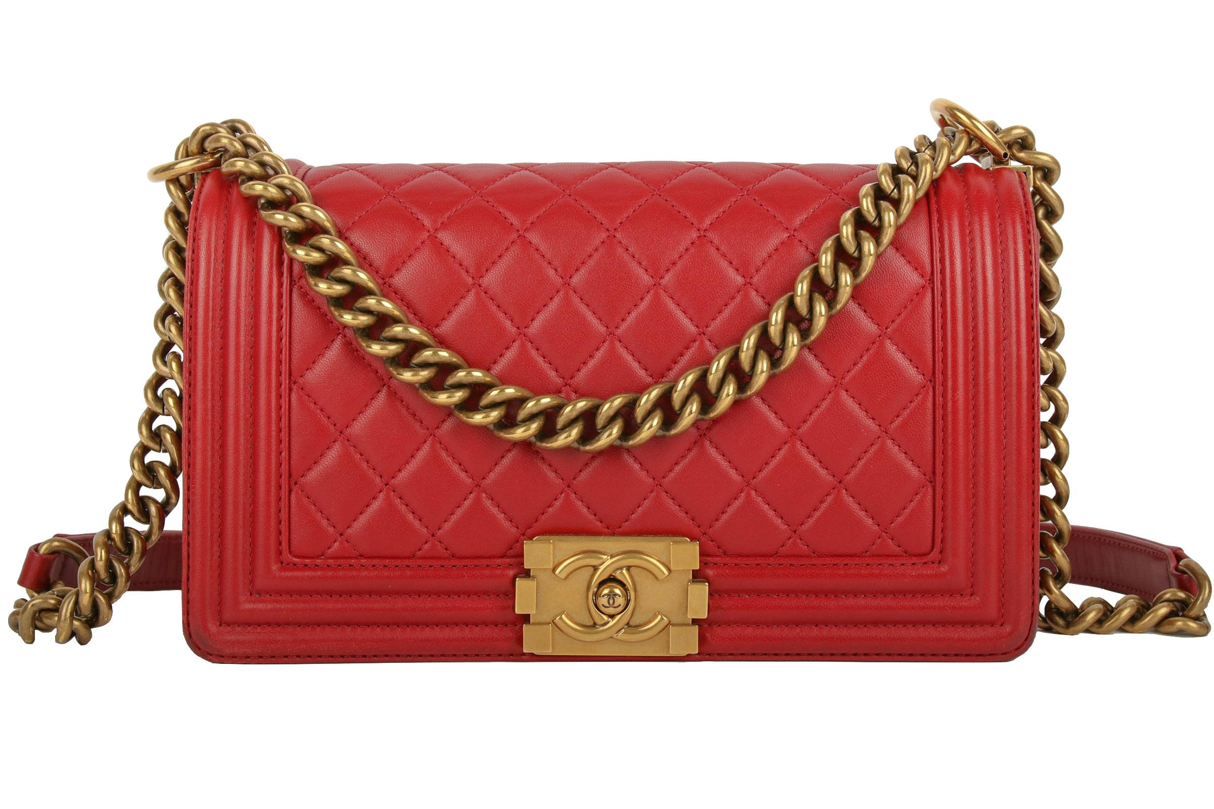 74d74f459 Chanel Boy Bag Small Bordeaux Red | Luxussachen.com