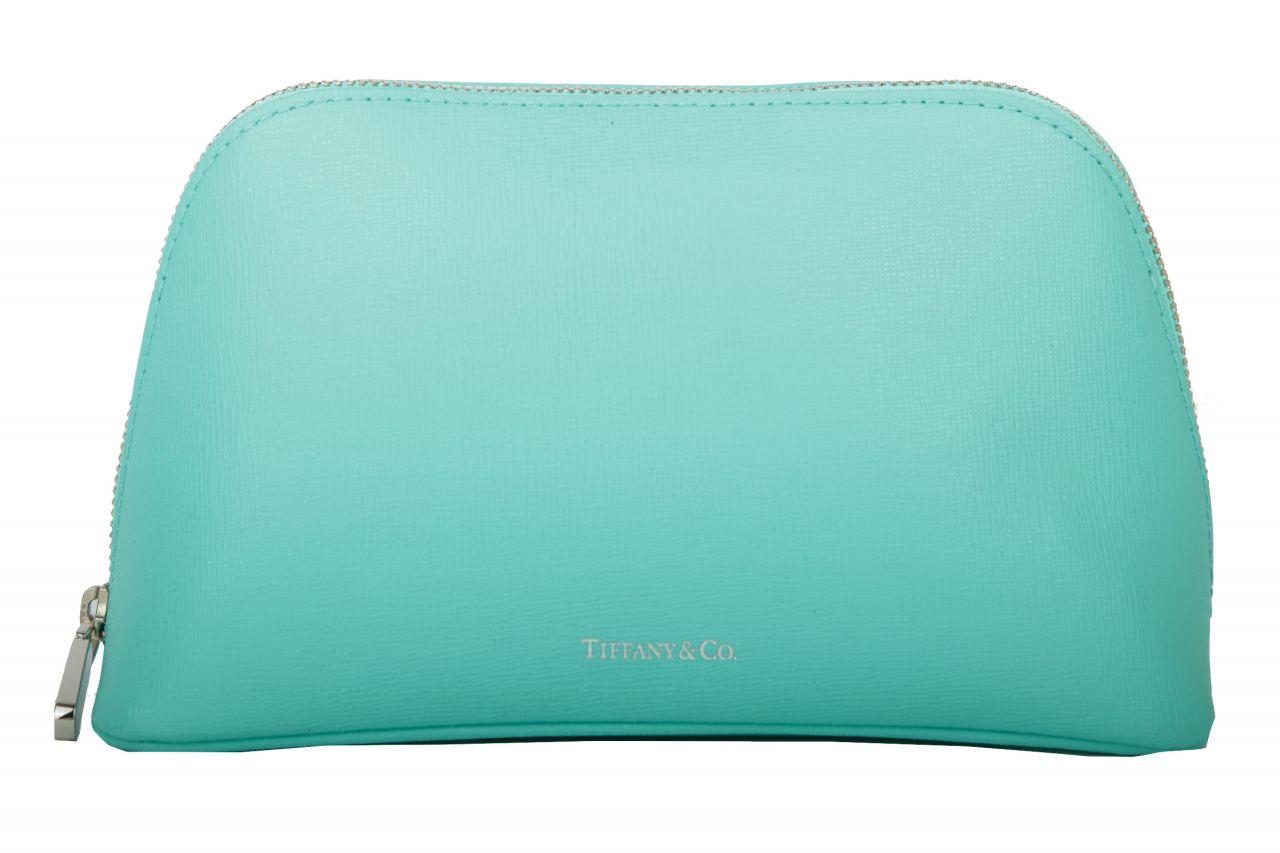 Tiffany & Co. Kosmetiktasche Türkis