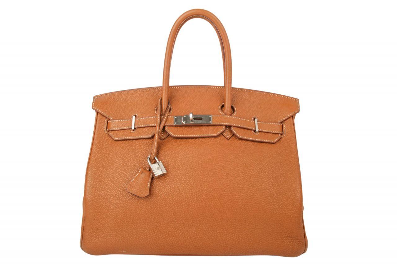 Hermès Birkin Bag 35 Marron d´Inde Togo