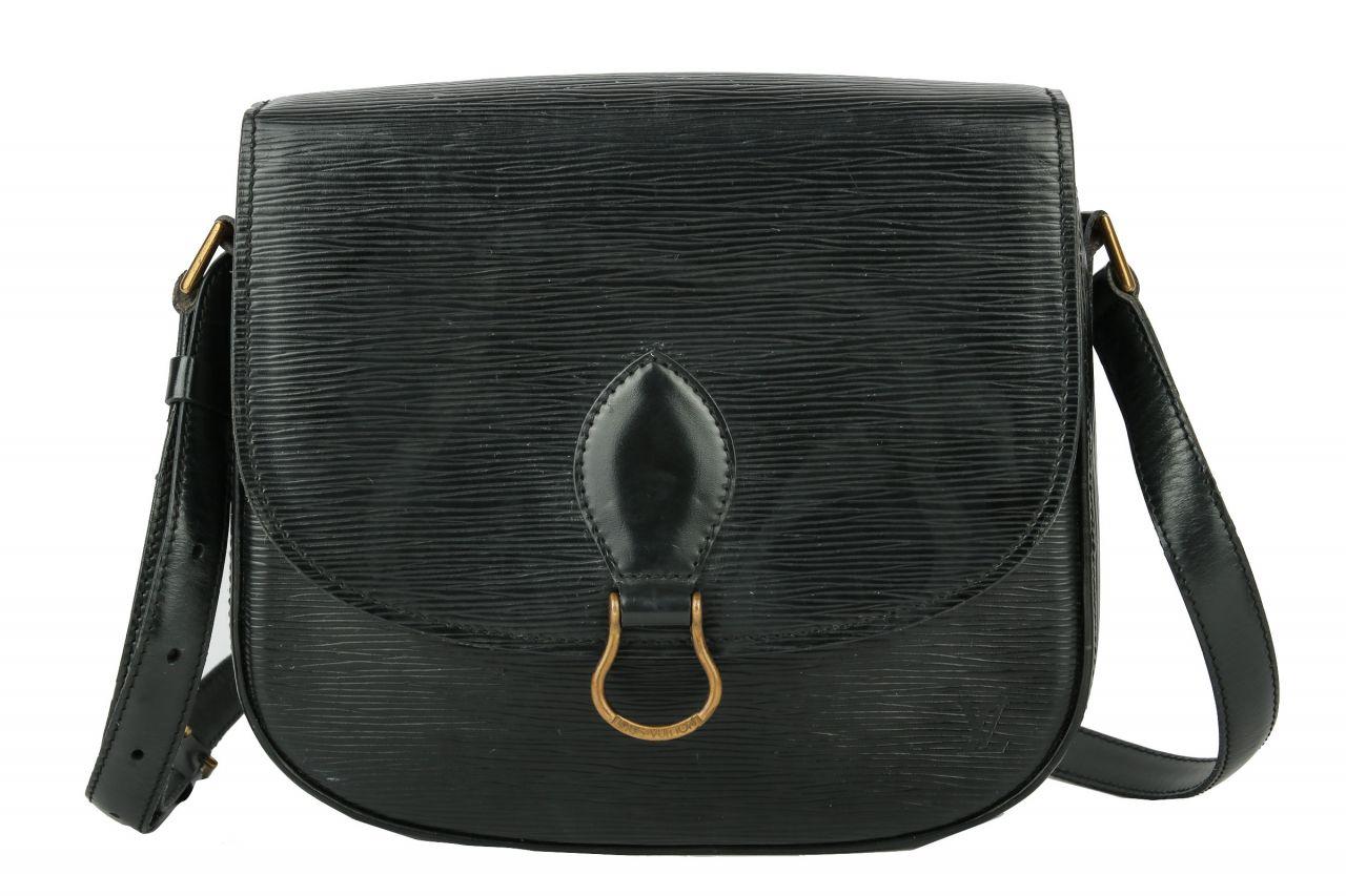 Louis Vuitton Saint Cloud GM Epi Leder Schwarz