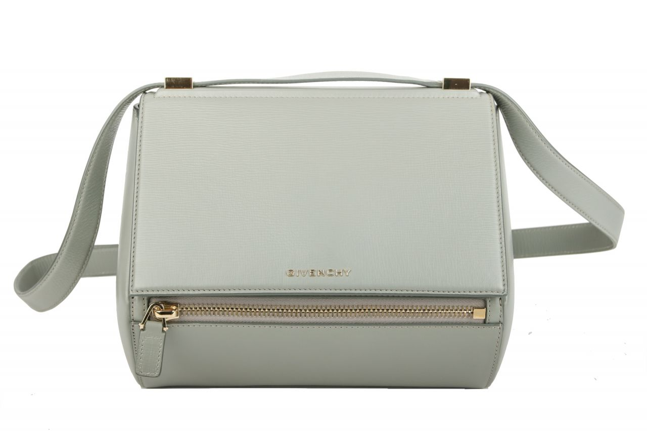Givenchy Pandora Box Crossbody Bag Leder Eisblau