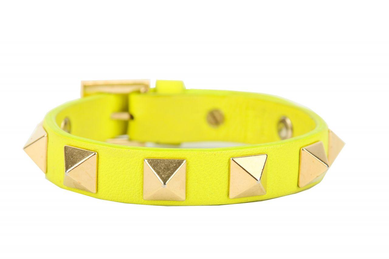 Valentino Rockstud Armband Gelb