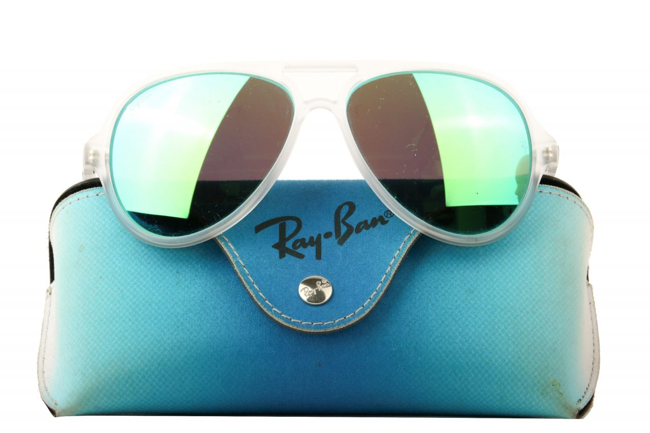 Ray-Ban Sonnenbrille Cats Transparent