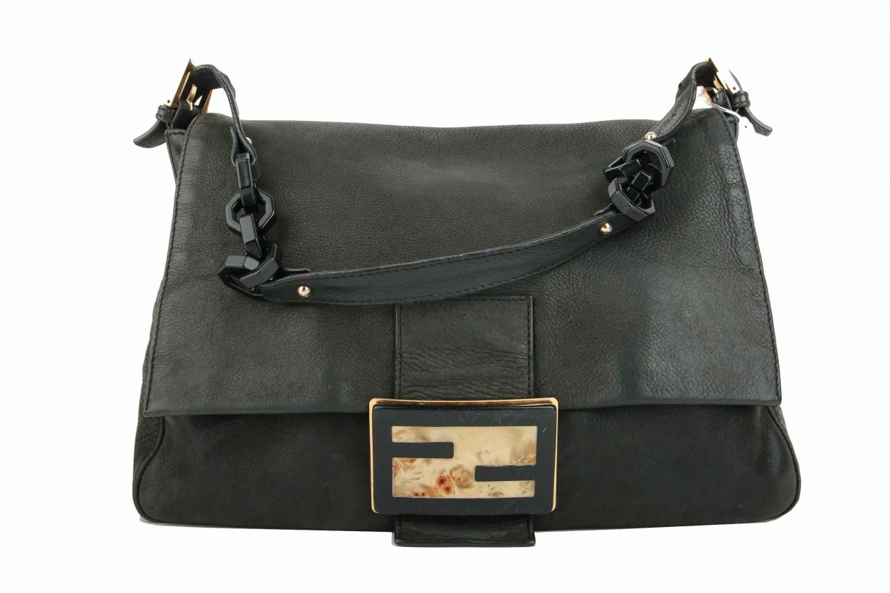 Fendi Shoulder Bag Black