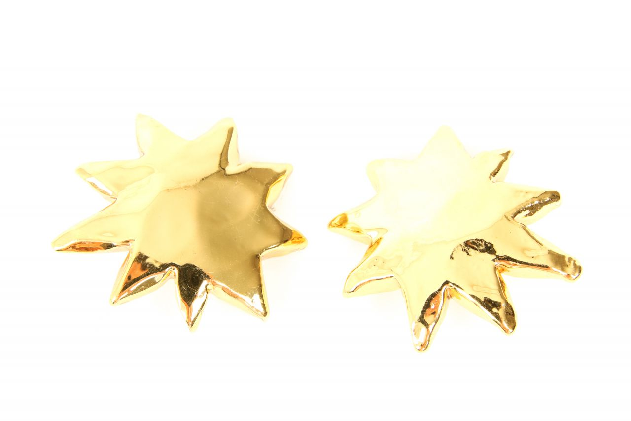Christian Lacroix Ohrclips Gold