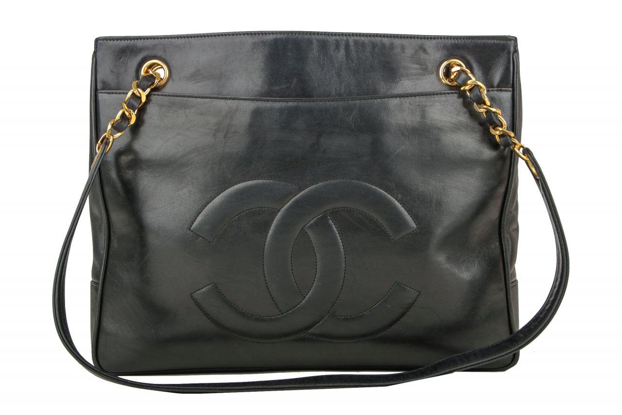 Chanel Shopper Schwarz