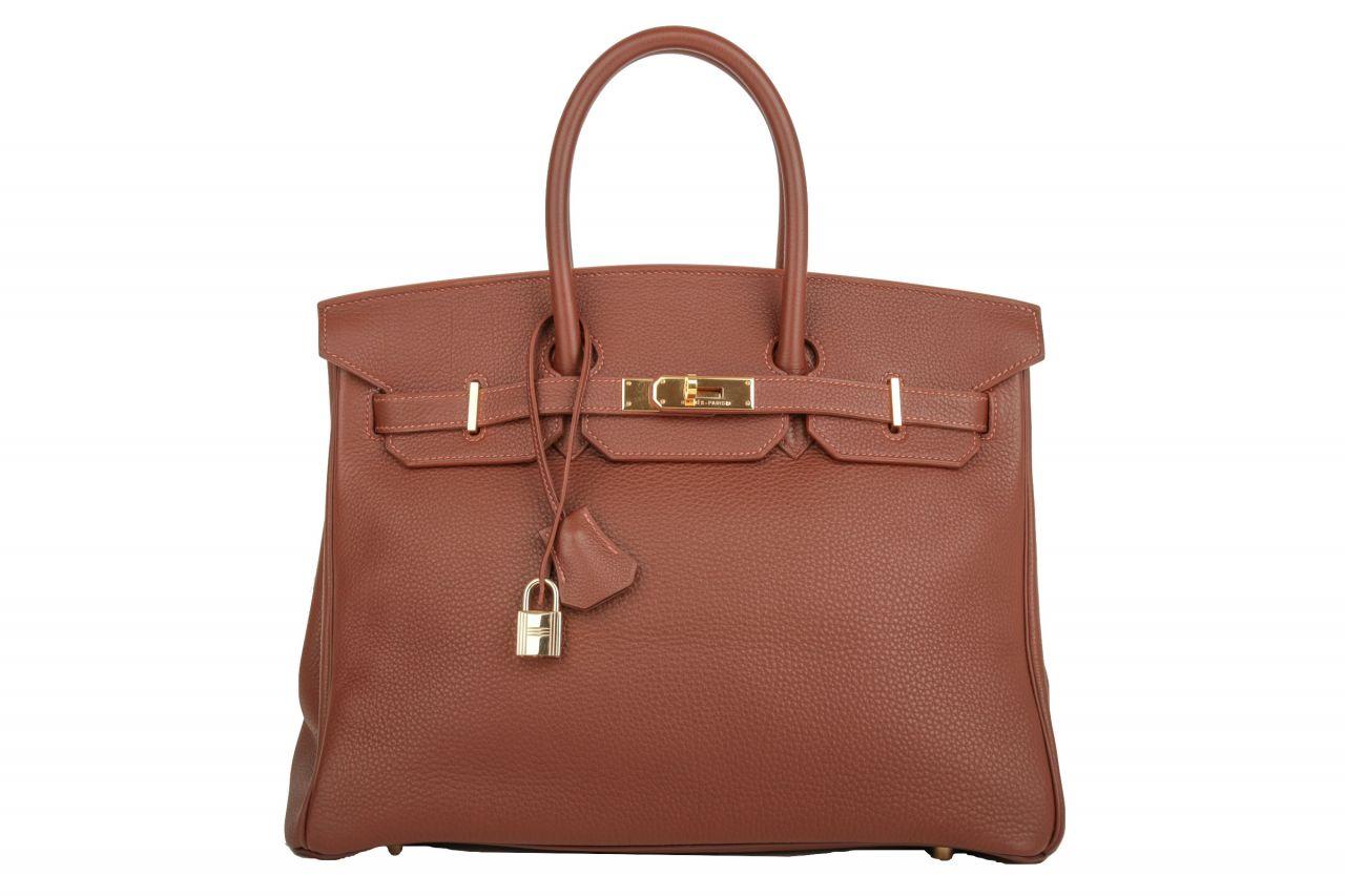 Hermès Birkin 35 Brown Taurillon Clemence