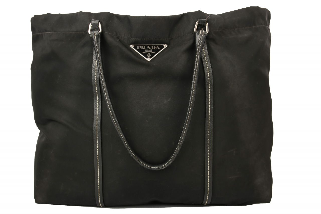 Prada Nylon Shopper Black