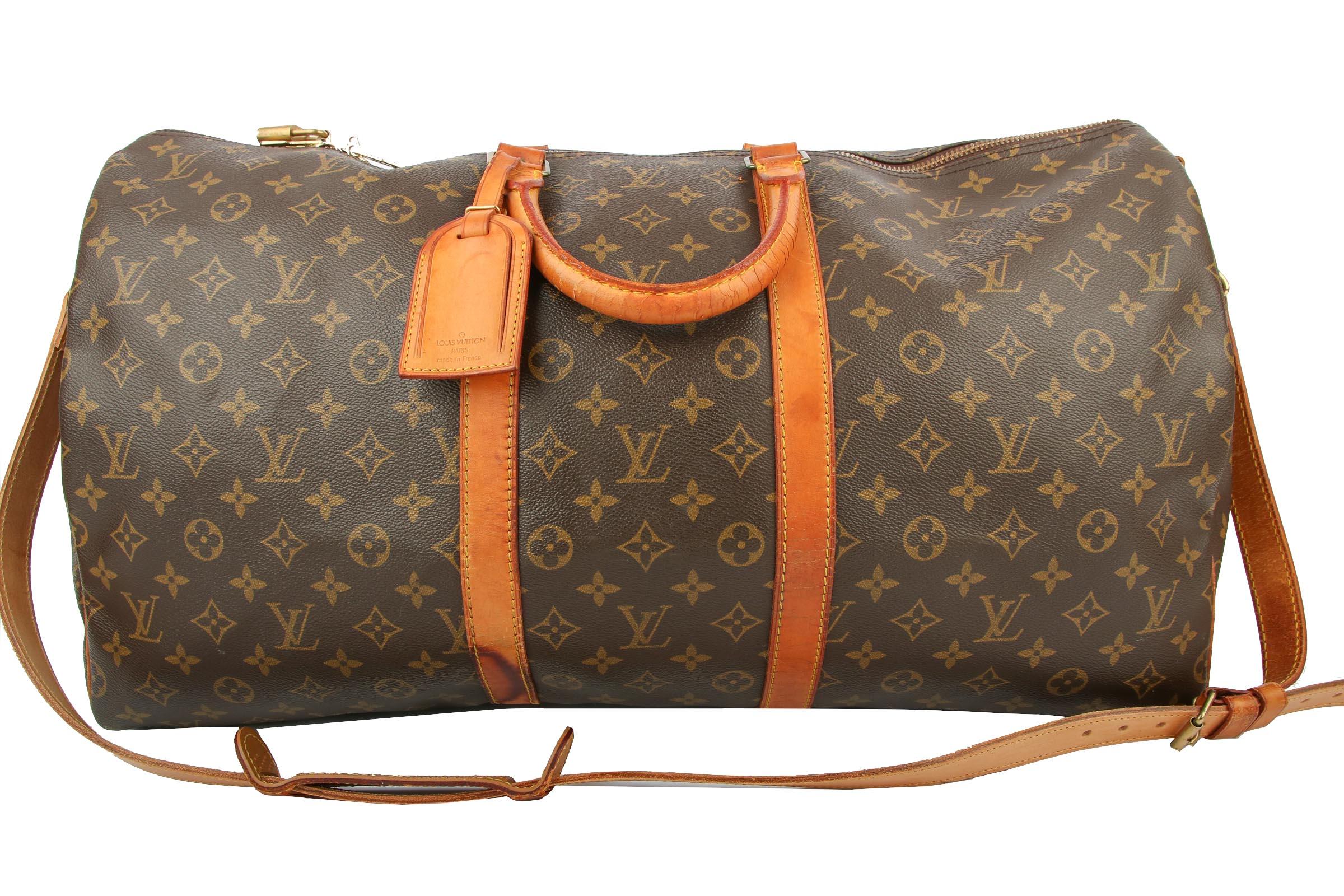 176c6134fa5bd Louis Vuitton Keepall Bandouliere 55 Monogram Canvas