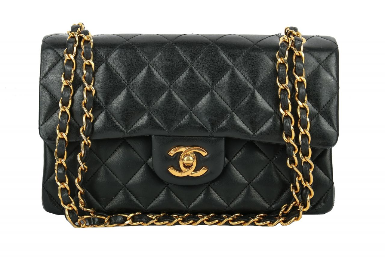 Chanel Timeless Classic Double Flap Small Black