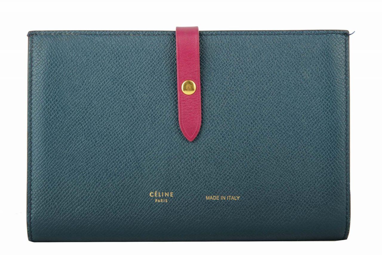 Celine Große Brieftasche