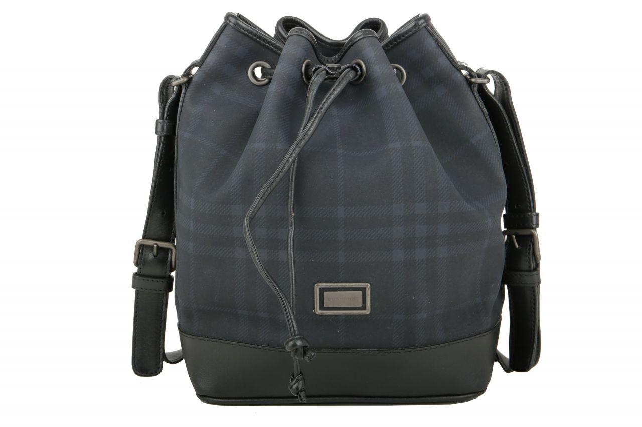 Burberry Bucket Bag Nova Check Schwarz