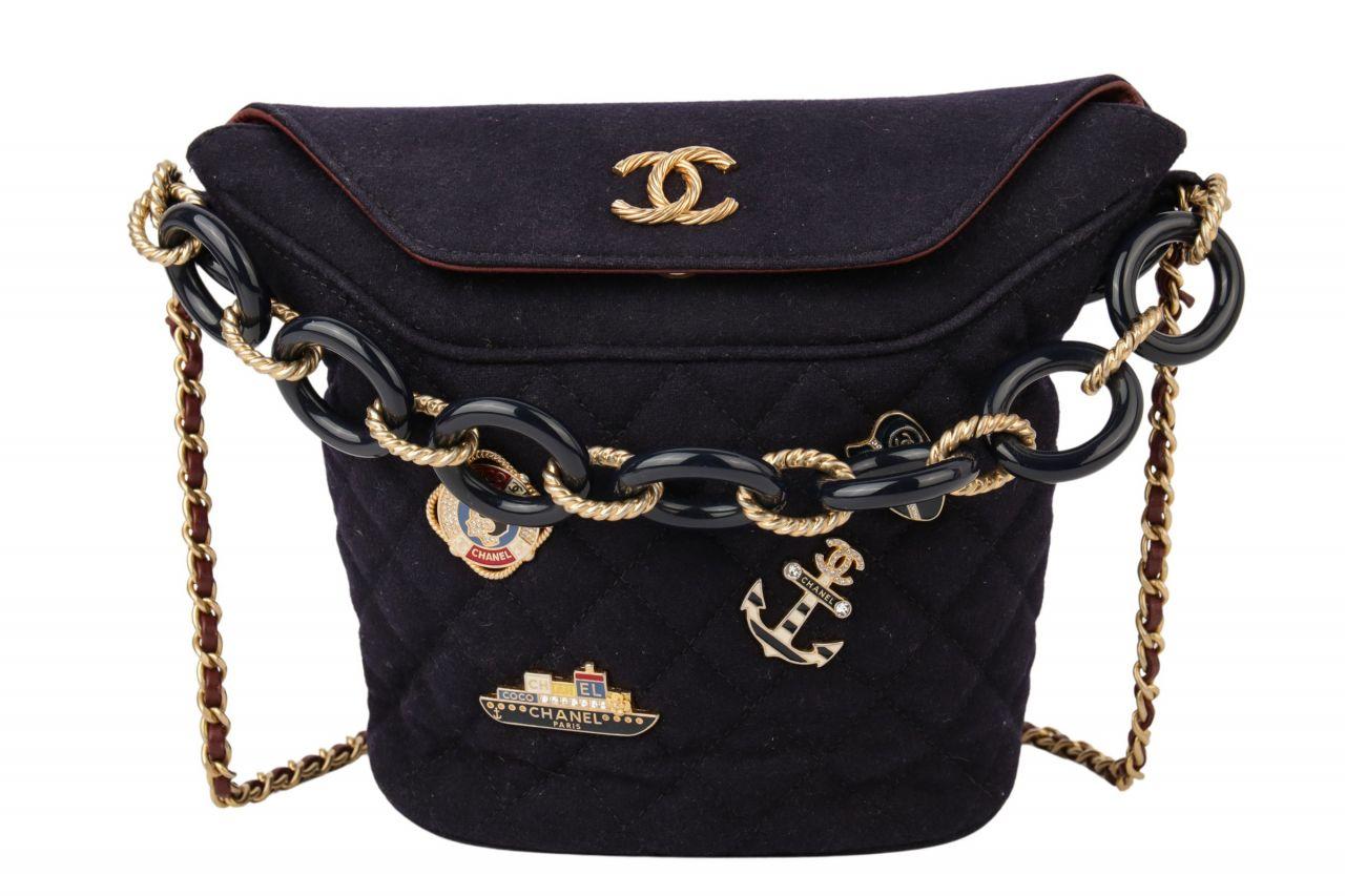 Chanel La Pausa Cruise Collection 2018 Bucket Bag