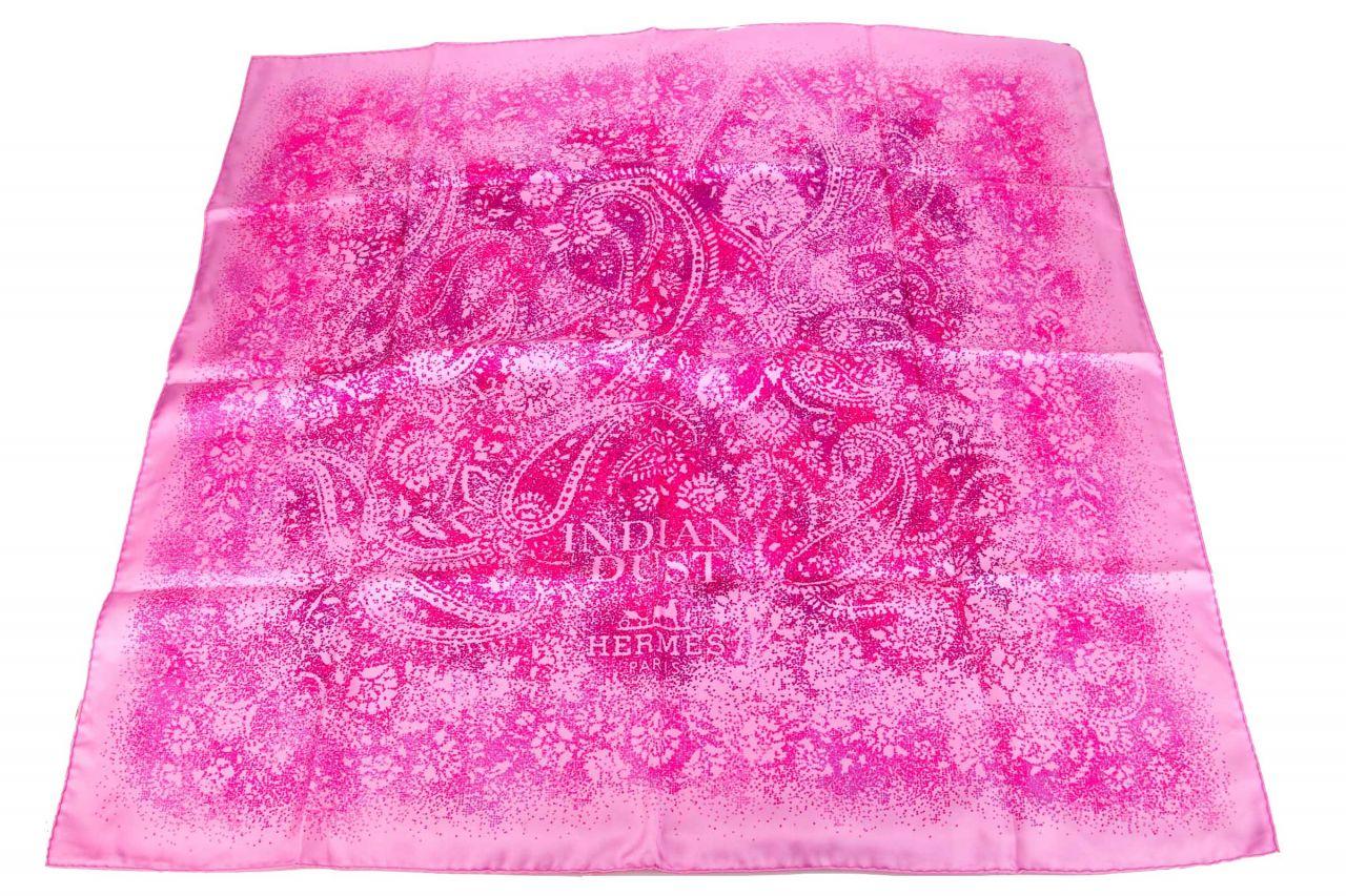 "Hermès Carré ""Indian Dust"" Seidentuch 90x90cm"