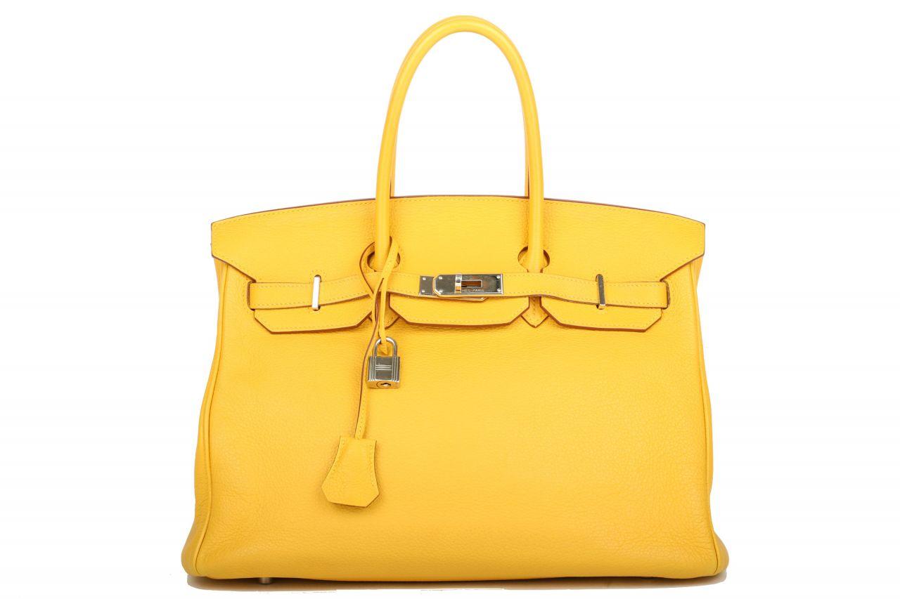 Hermès Birkin 35 Soleil Togo