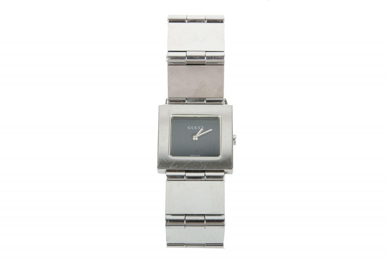 Gucci Uhr 600 J Silber