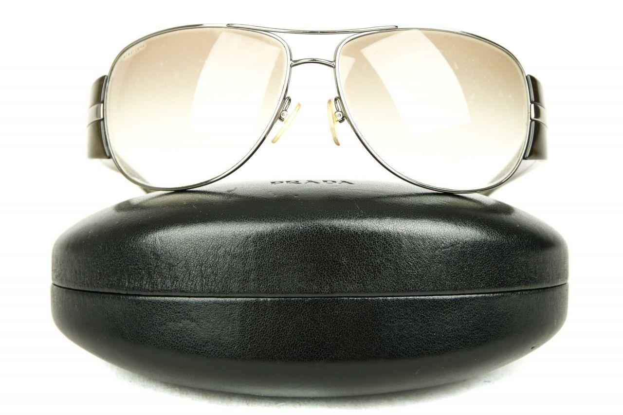 Prada Sonnenbrille Dunkelgrün