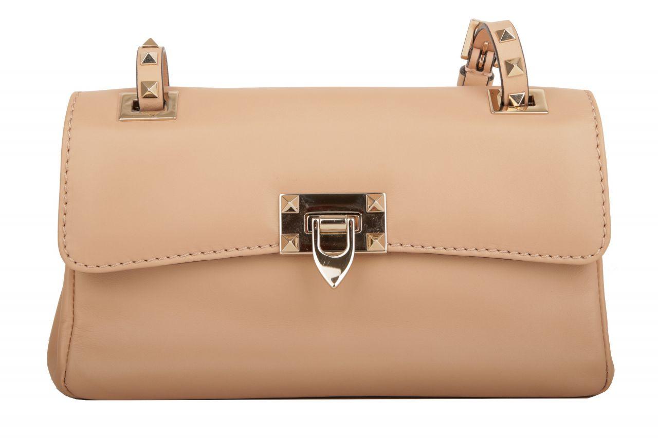 Valentino Rockstud Shoulder Bag Beige