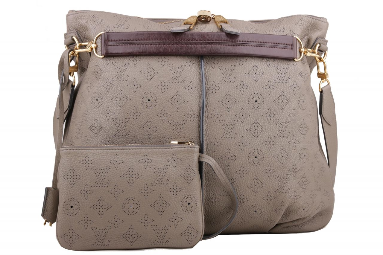 Louis Vuitton Selene PM Mahina Taupe