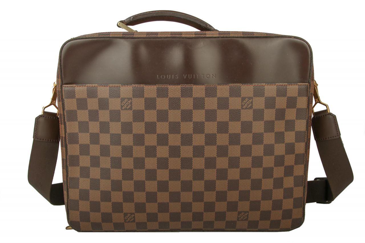 Louis Vuitton Laptoptasche Damier Ebene Canvas