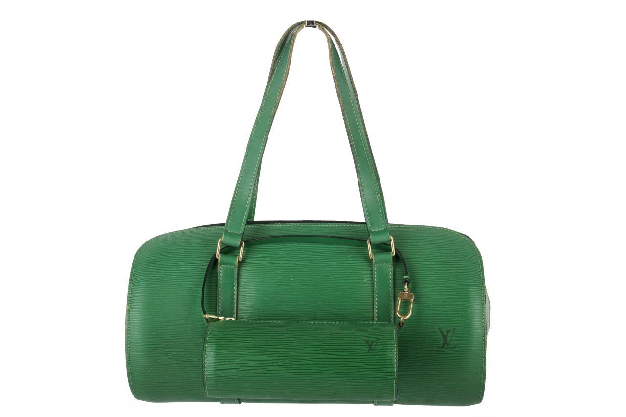 Louis Vuitton Slovo Epi Leather Bag Green