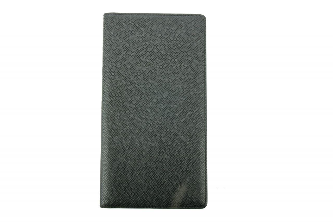 Louis Vuitton Pocket Organizer Taiga Black