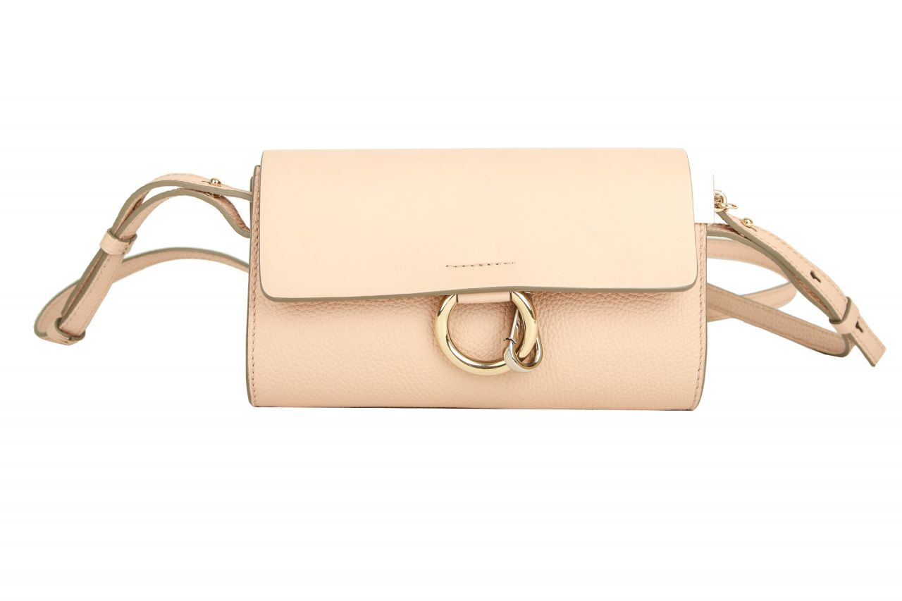 Chloé Faye Small Crossbody Bag Rosé