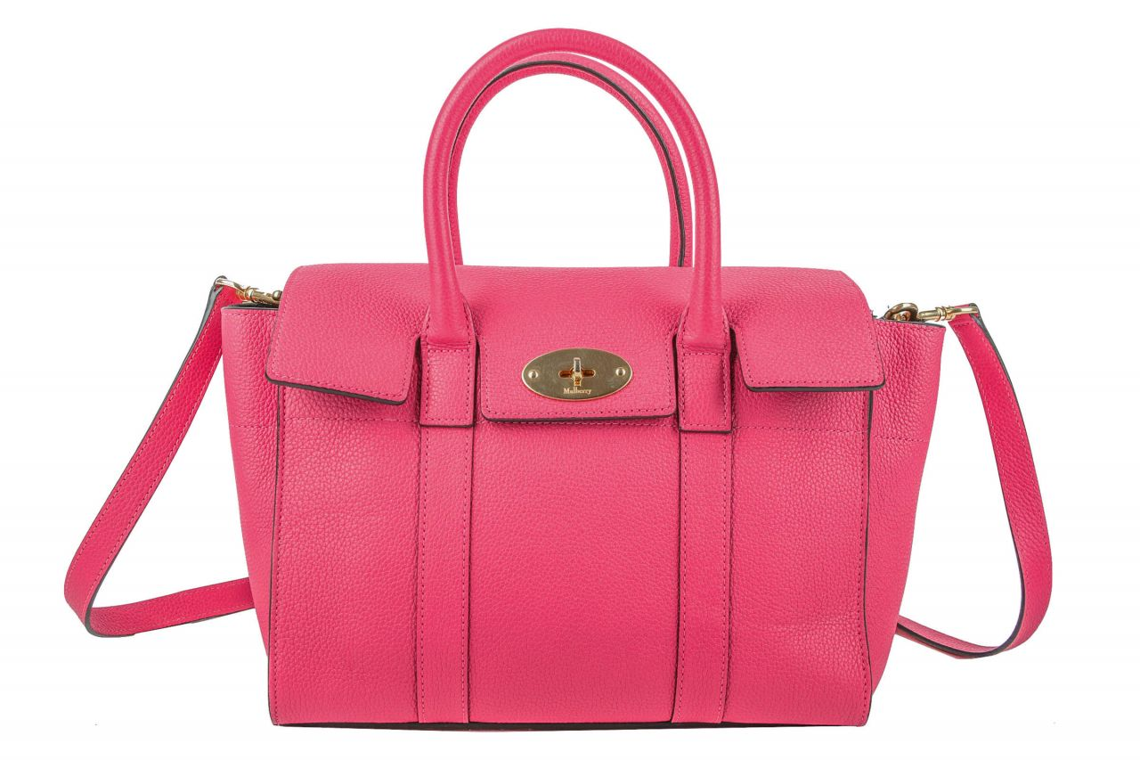 Mulberry Bayswater Bag Small Pink