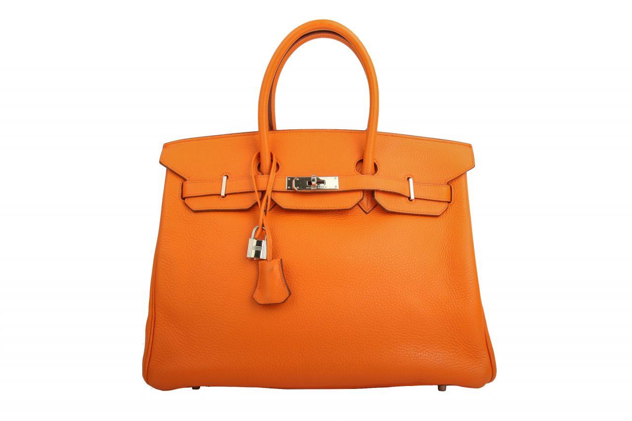 Hermès Birkin 35 Orange