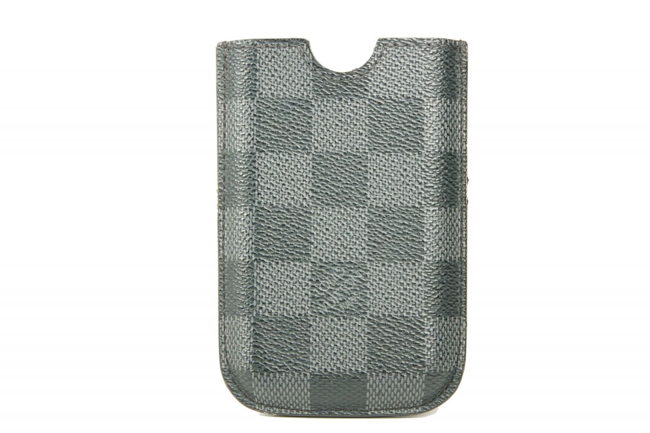 Louis Vuitton iPhone 3G Case Damier Graphite