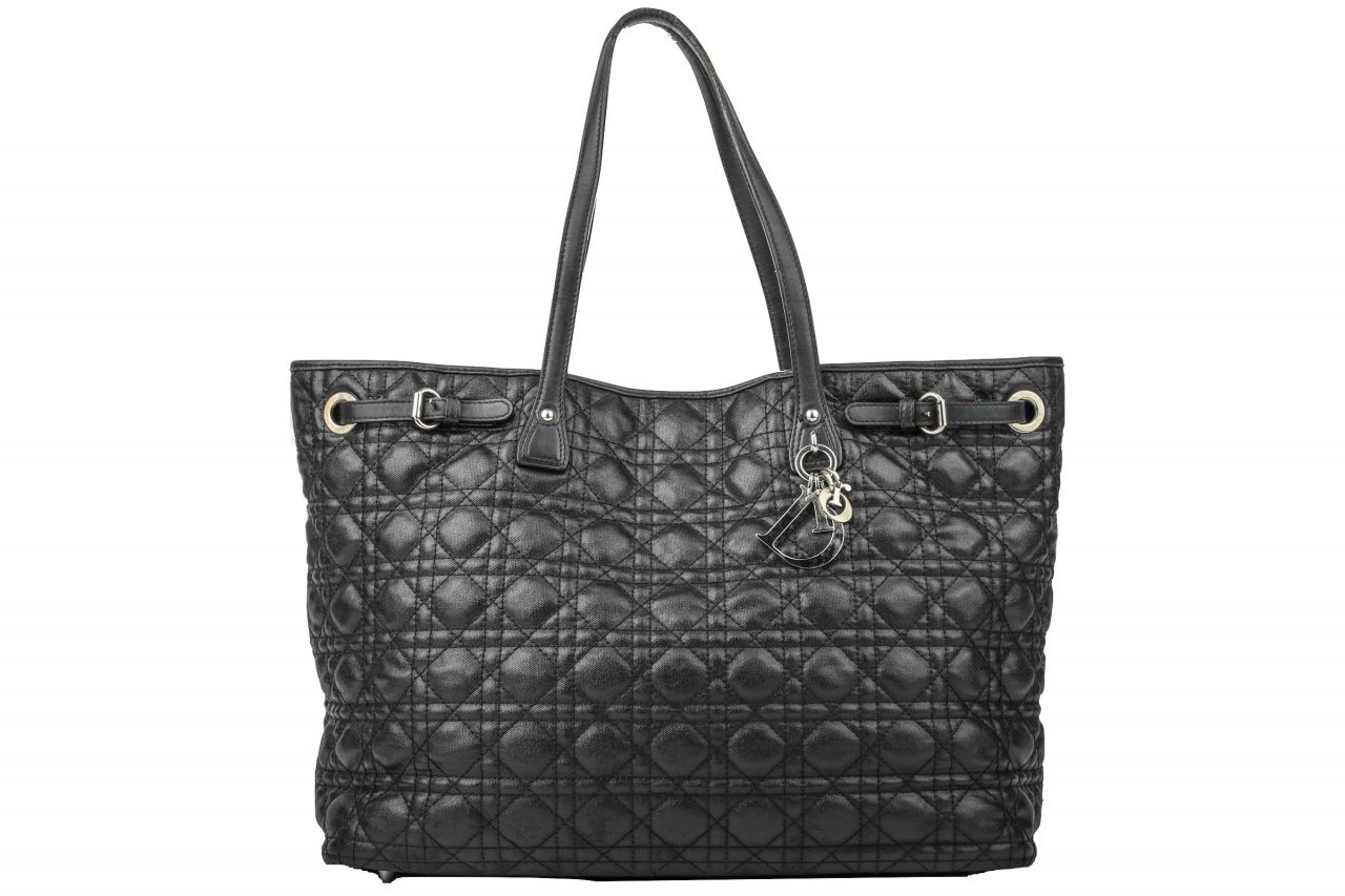 Dior Lady Dior Shopper Schwarz