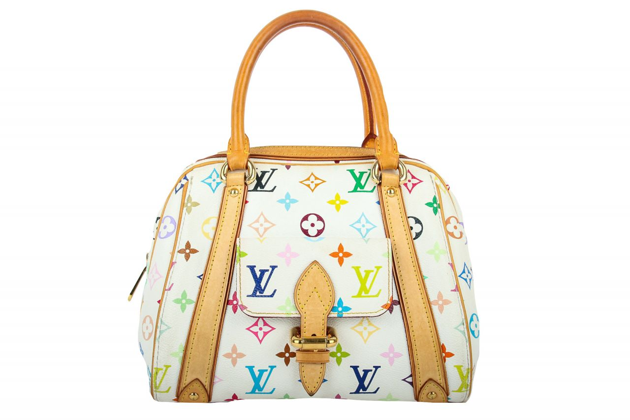 Louis Vuitton Priscilla Monogram Multicolore Canvas