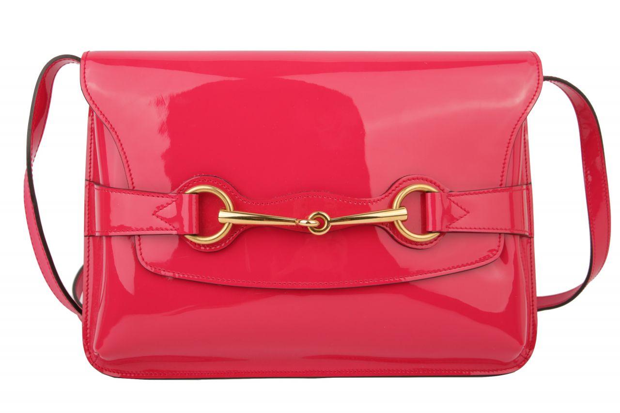 Gucci Umhängetasche Lack Pink