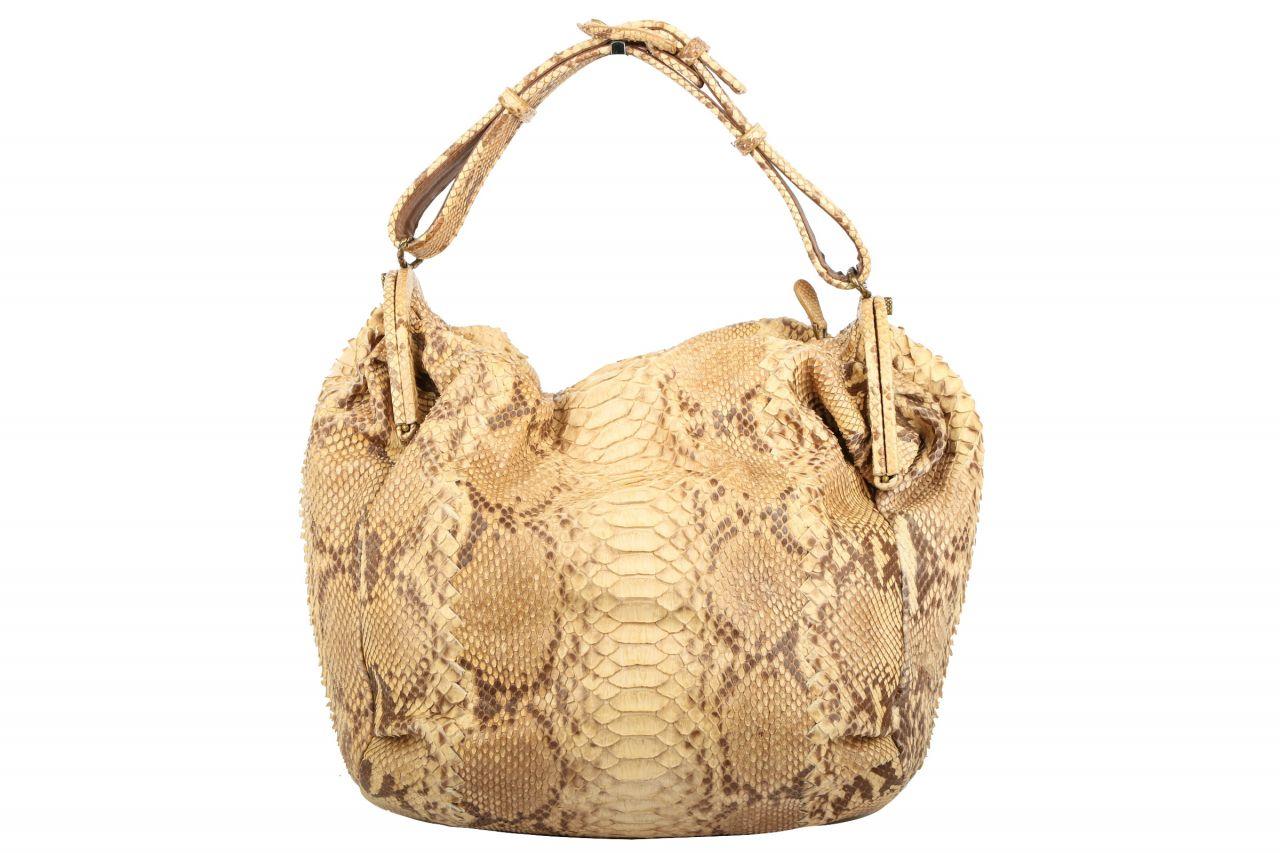 Bottega Veneta Duette Python Bag 2008 Limited