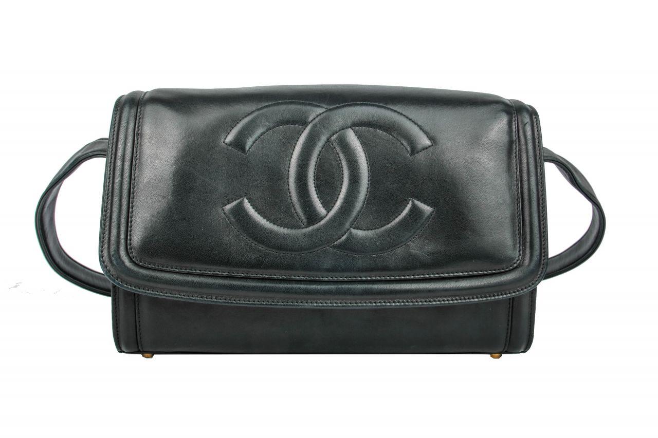 Chanel Messenger Bag Schwarz