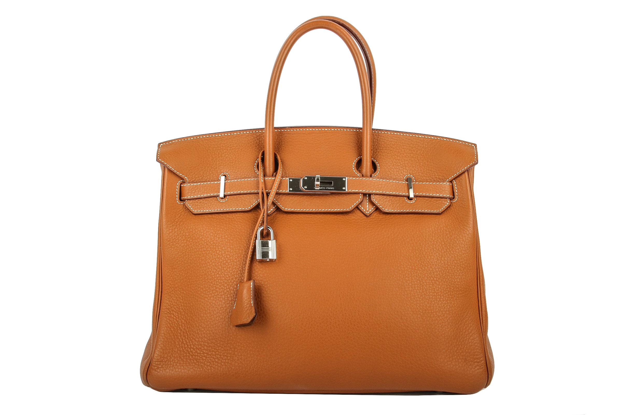 68560caa5410b Hermès Birkin 35 Taurillon Clemence Gold