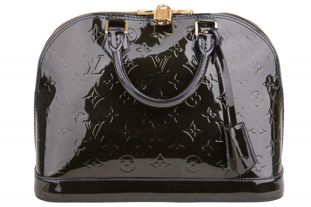 Louis Vuitton Alma PM Vernis Black