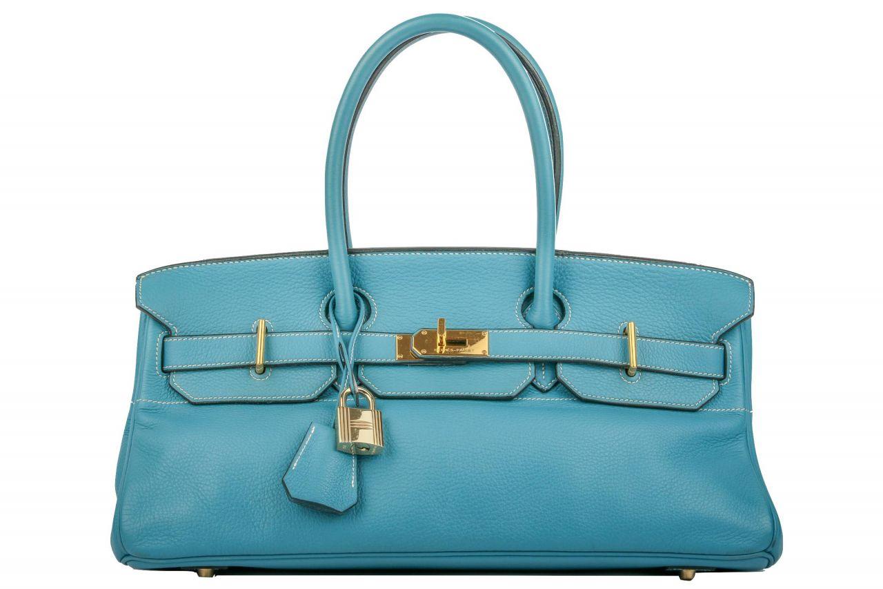 Hermès Shoulder Birkin JPG 42 Blue Jean