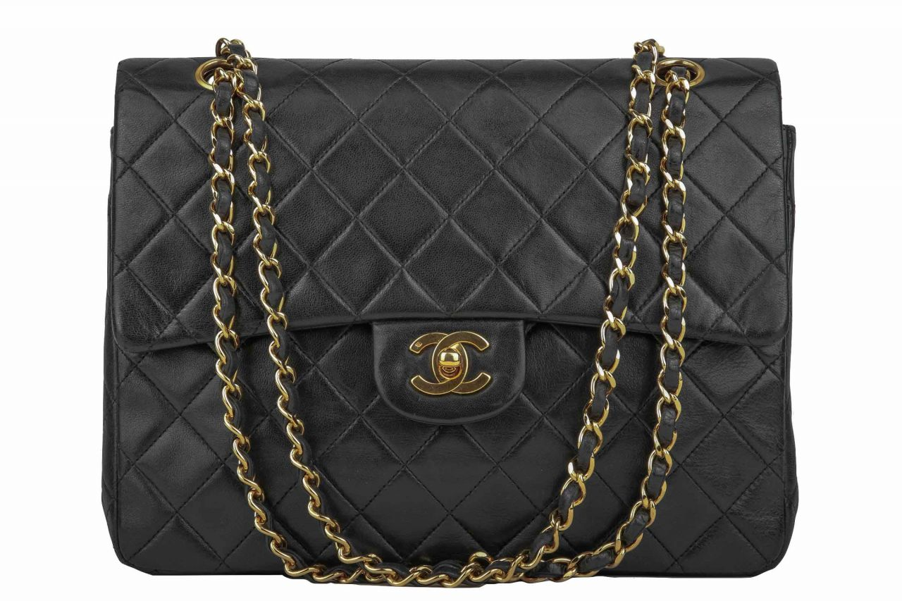 Chanel Timeless Classic Double Flap Medium Black